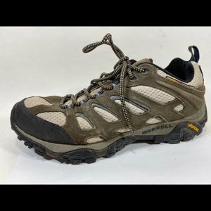 Merrell Leather Hiking Shoes Men's 10